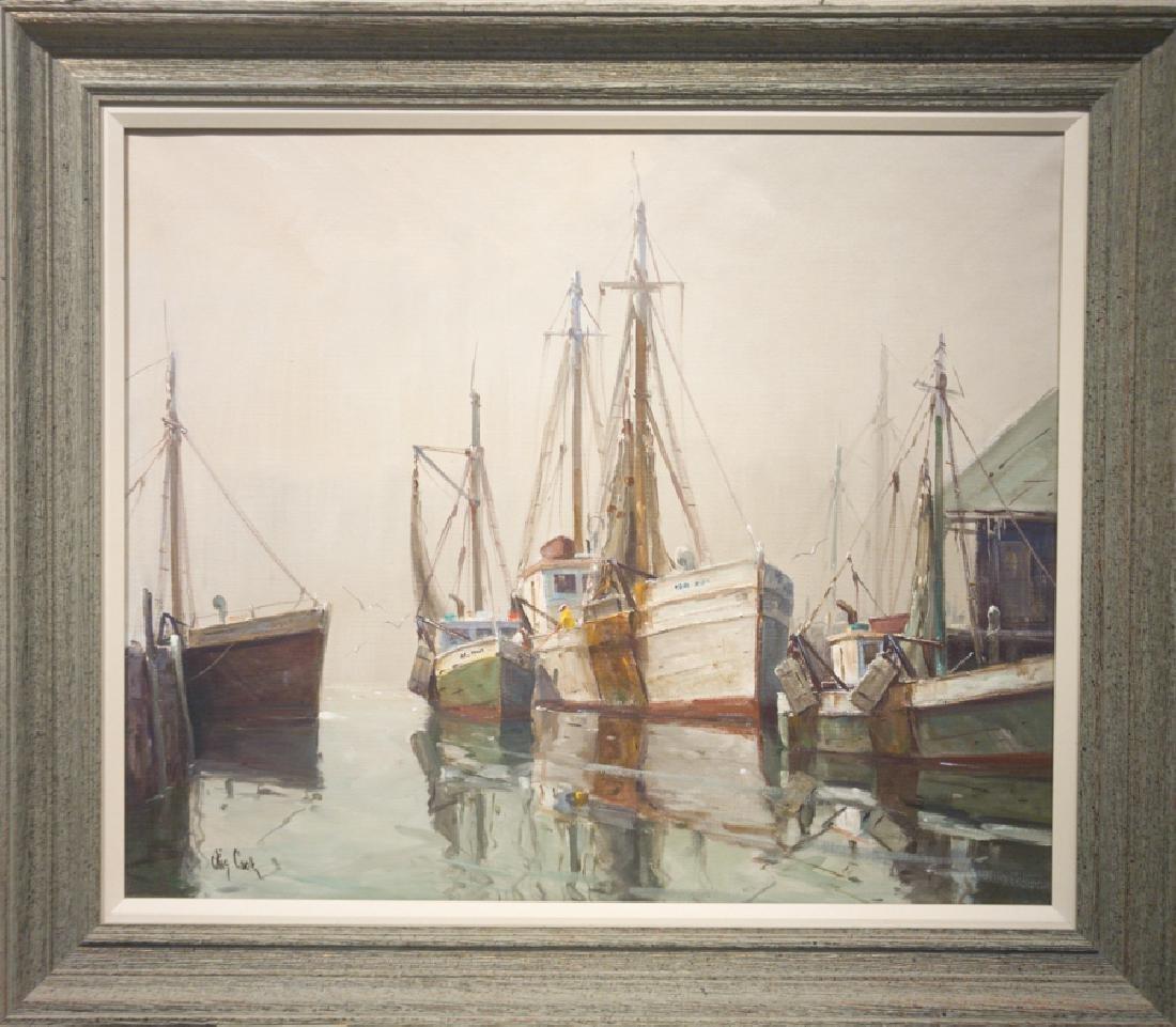 Otis Cook 1900-1980 Gloucester Harbor