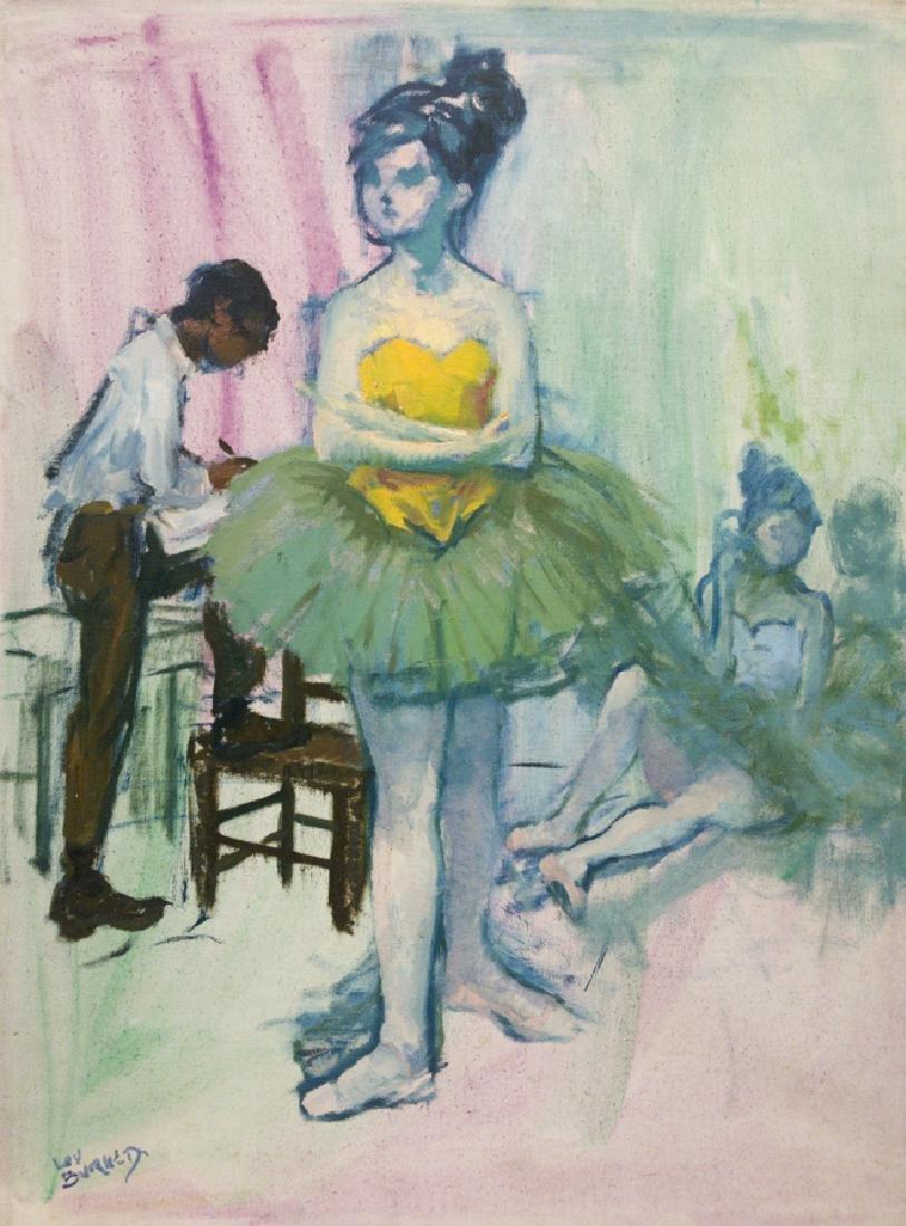 Lou Burnett 1907-1999 The Ballerina