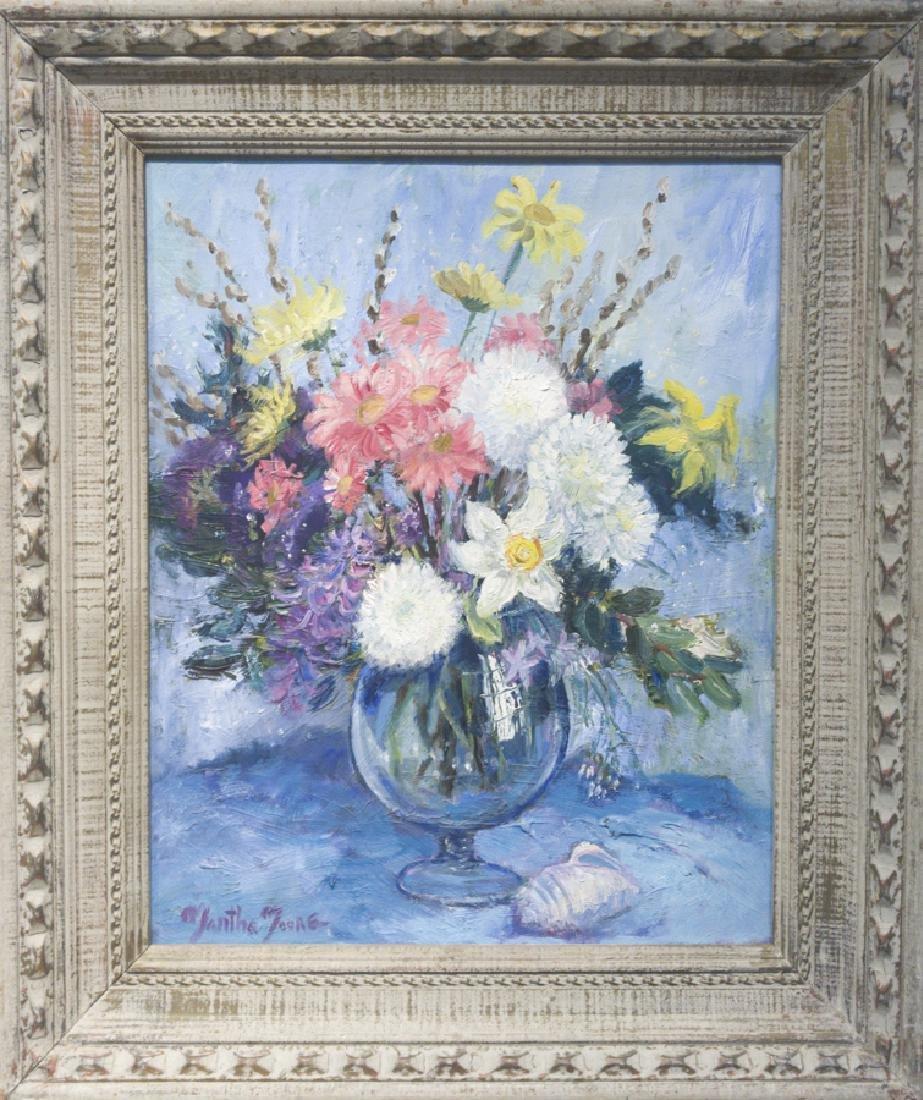 Martha Moore 1913-1982 Floral Still Life