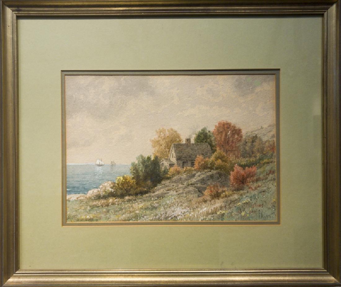 James Renwick Brevoort 1832-1918 Seaside Cottage