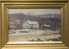 Bernard Corey 1914-2000 Snow Dusting (1992)