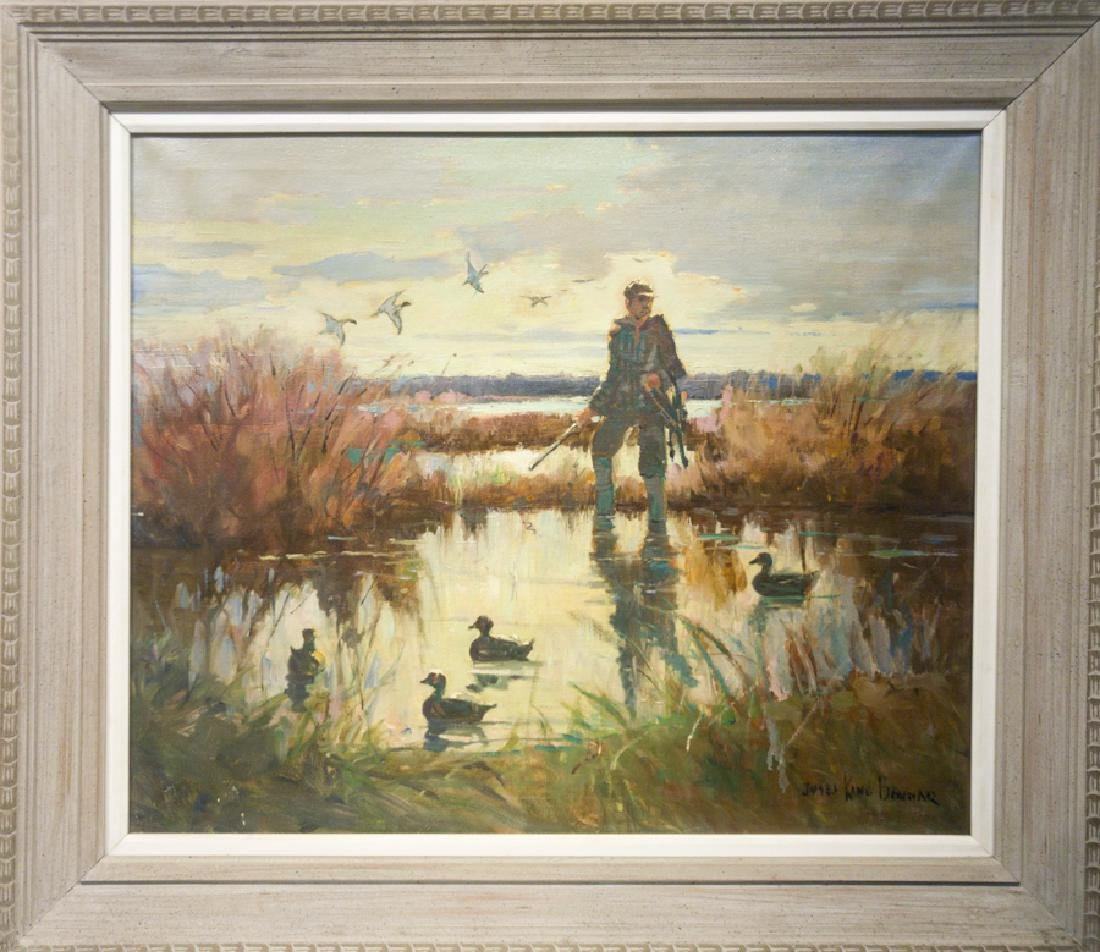 James King Bonnar 1883-1961 Duck Hunter