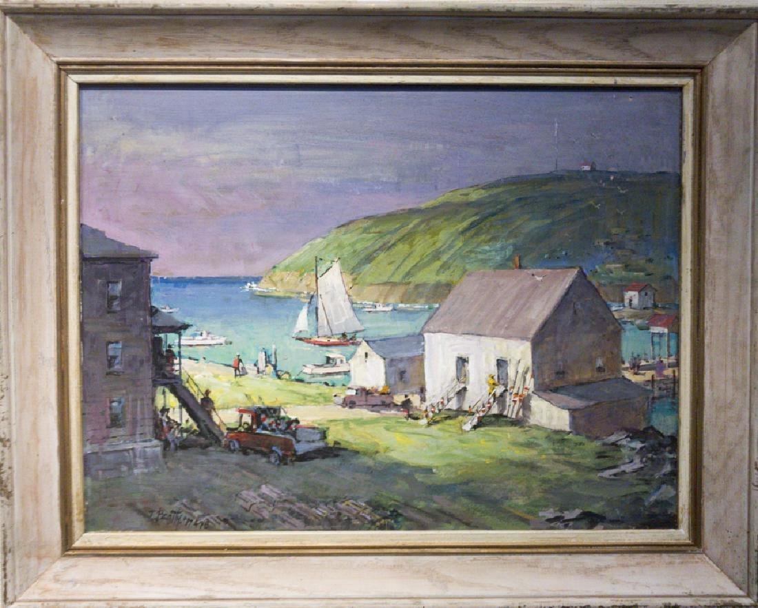 Frank Beatty 1899-1984 Monhegan Harbor, Maine