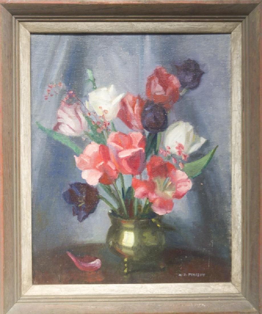 Marguerite S. Pearson 1898-1978 Tulip Still Life