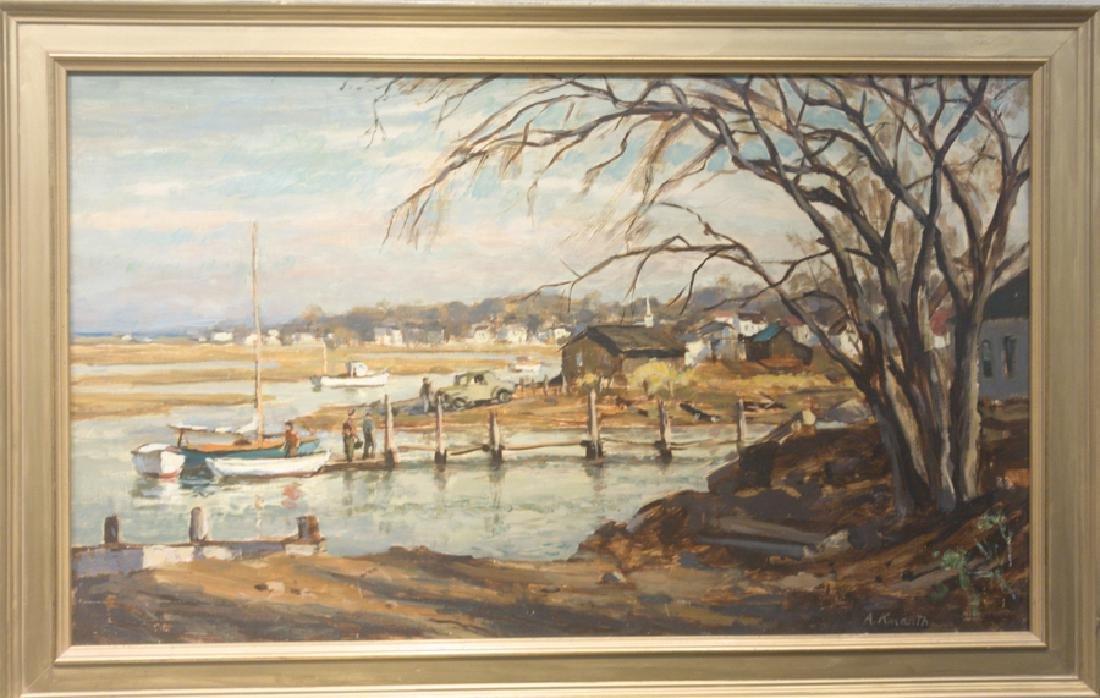 Arnold Knauth 1918-2017 Essex Inlet