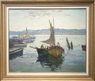 Antonio Cirino 1888-1983 Day's Ending