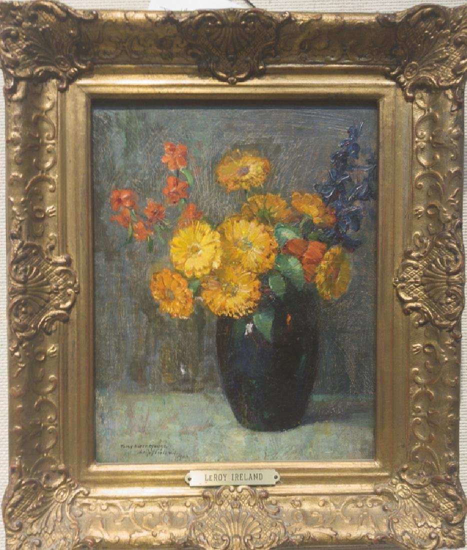 Leroy Ireland 1889-1970 Floral Still Life