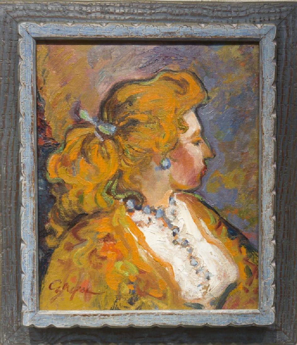 Al Czerepak 1928-1986 Portrait (1971)