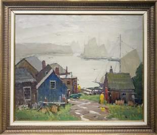 Antonio Cirino 1888-1983 Fog and Rain