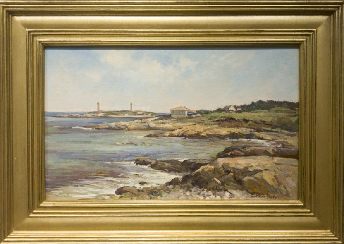 Bernard Corey 1914-2000 Twin Lights - Rockport, MA