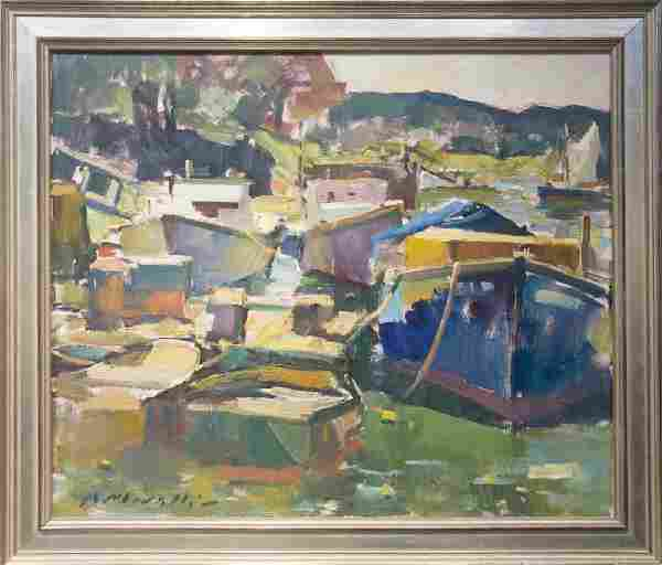 Charles Movalli 1945-2016 Lobster Boats