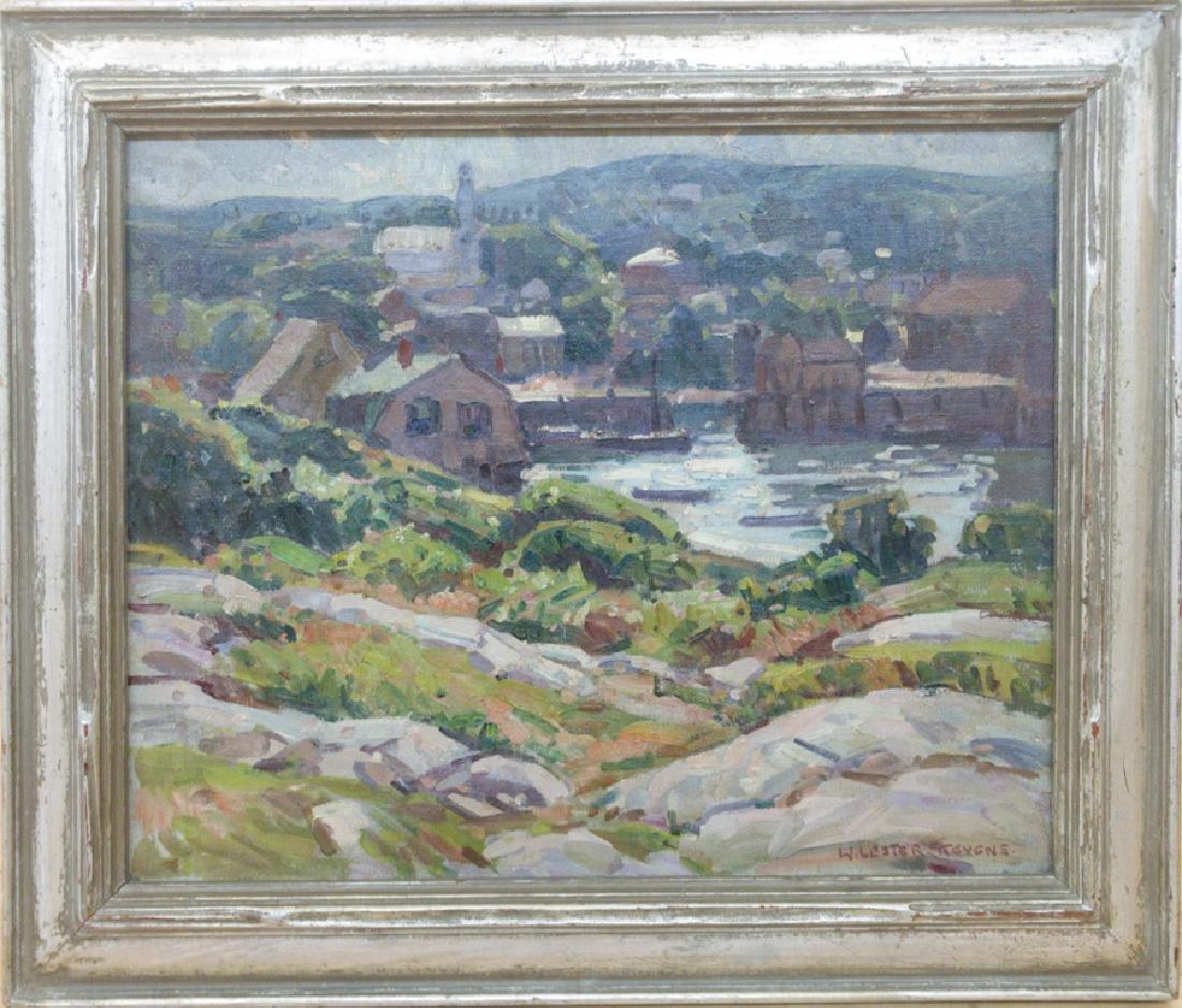 W. Lester Stevens 1888-1969 Rockport Harbor