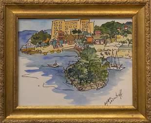 Lynn Loscutoff 19342018 Water Front