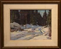 Aldro T.  Hibbard  1886-1972  Winter Scene