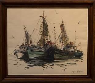 Al Czerepak 19281986 Fishing Boats