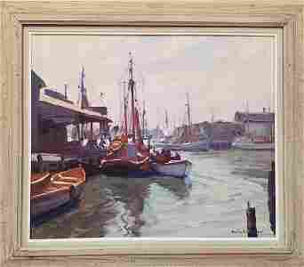 Emile  Gruppe  1896-1978  Morning Gloucester