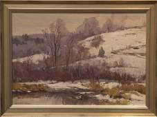 Bernard Corey 1914-2000 Early Snow