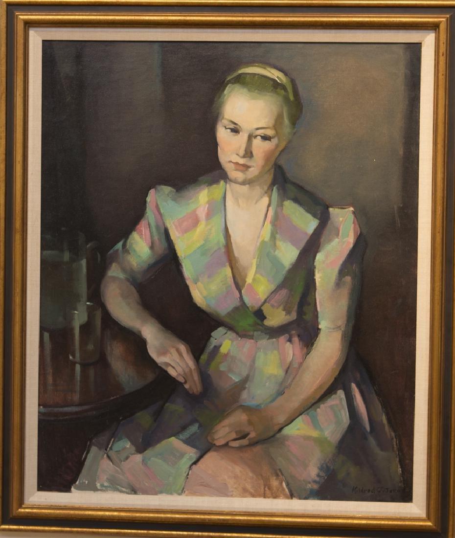 Mildred  Jones  1899-1992  Woman in Pastel Dress