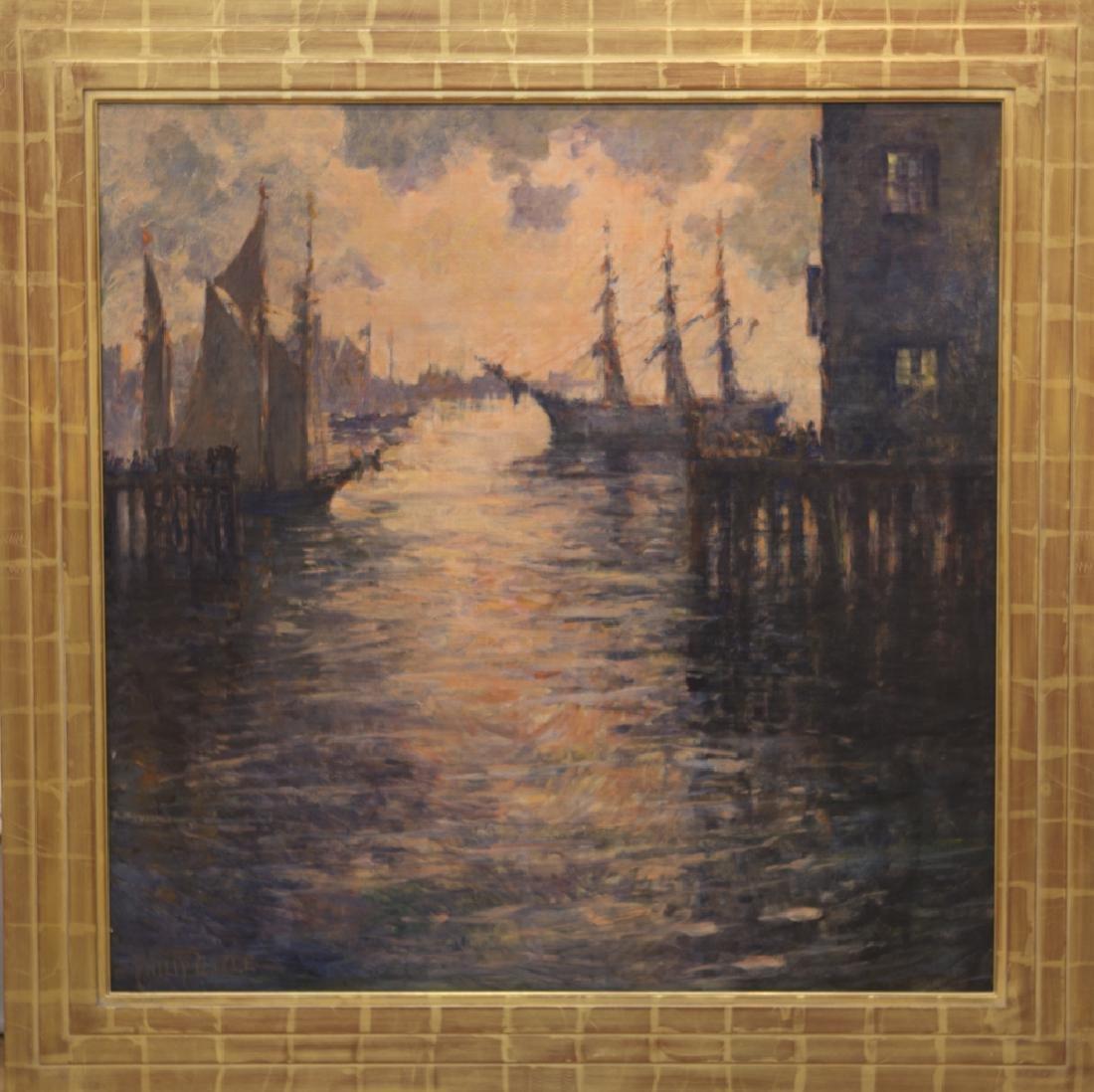 Philip  Little  1857-1942  The Salt Ship Gloucester,