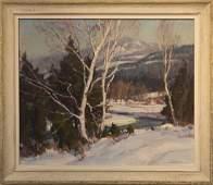 Emile  Gruppe  1896-1978  Birches in Winter
