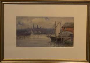 John A Cook 18701936 Gloucester Harbor