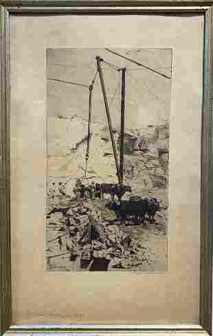 Gabrielle de Veaux Clements 1858-1948 Rockport Quarry