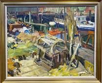 Charles Movalli 1945-2016 Dockside