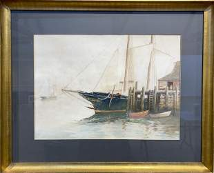 J. B. Foster 1865-1930 Harborscape, Cape Ann
