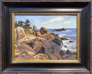 John L. Loughlin 1931-2004 Bass Rocks