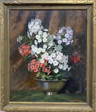 Mae Bennett Brown 1887-1973 Phlox