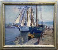 Emile Gruppe  18961978 The Yankee Drying Sails