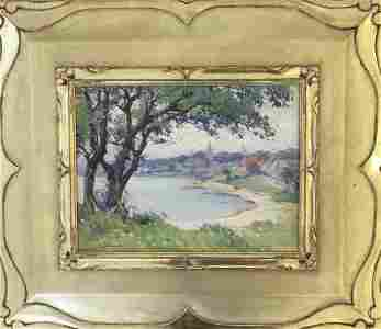 Mabel May Woodward 1877-1945 Rockport Village from Back