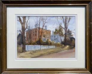 Carl Gustafson 19102011 The Red Mansion