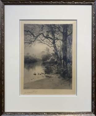 Julian Rix 18501903 By the Rivers Edge