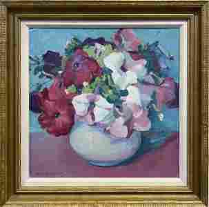 Jane Peterson 1876-1965 Petunias
