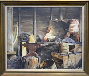Gunnar Bjareby 18991967 Niemis Smithy Lanesville