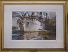 Marshall Joyce (1912-1998) Harbor Afternoon