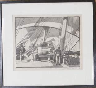 Gordon Grant (1875-1962) Old Windjammer