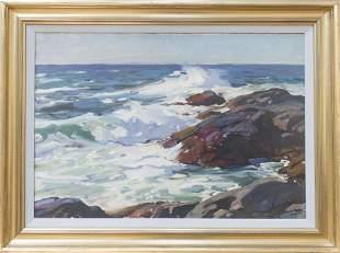 Aldro T. Hibbard (1886-1972) Vibrant Seascape