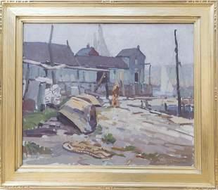 W. Lester Stevens (1888-1969) Rockport