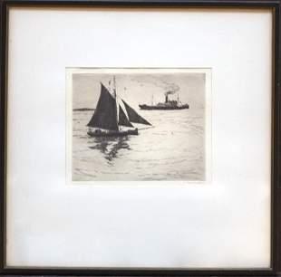 Philip Kappel (1901-1981) Boats