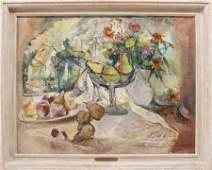 William Meyerowitz (1887-1981) Window Still Life