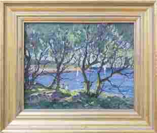 Antonio Cirino (1888-1983) Willows at Rockport