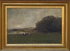 Charles Edwin Lewis Green (1844-1915) Red Rock, Lynn MA