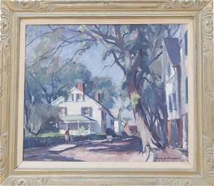 Emile Gruppe (1896-1978) King Street, Rockport