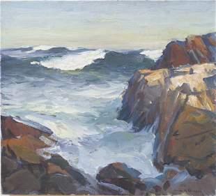 Emile Gruppe (1896-1978) Bass Rocks