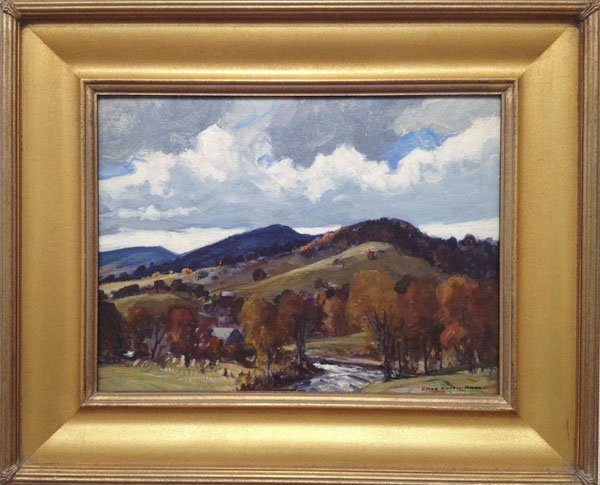 "7: Charles Curtis Allen ,""New Hampshire Mountains"""