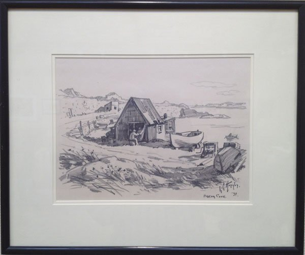 "87: Lester Hornby ,""Pigeon Cove, 1937"""