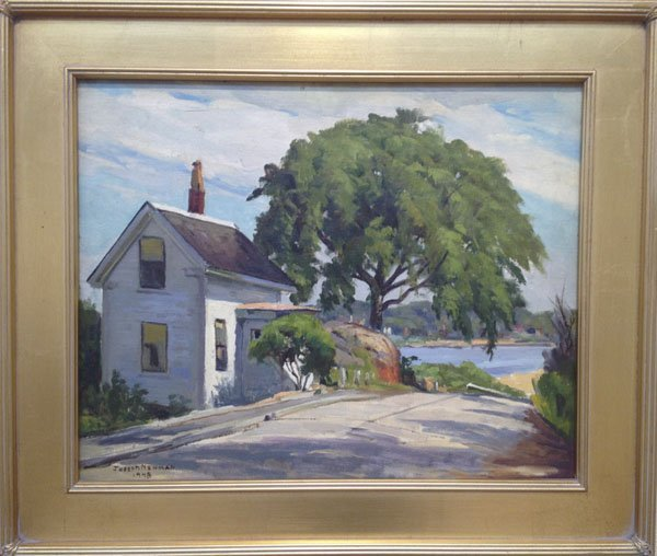 "113: Joseph Newman Sentinel, Pigeon Cove"""