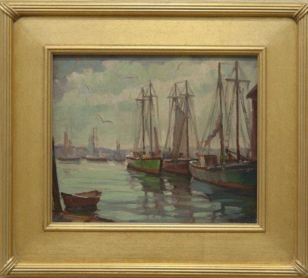 "190: Arthur Norman Davis Gloucester Harbor"""